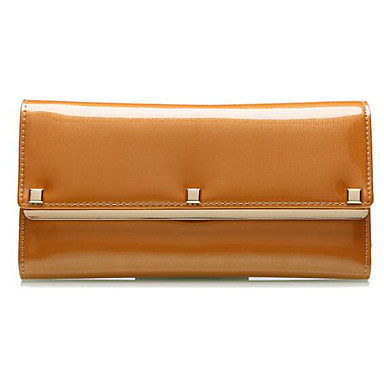 Women Card & ID Holder Cowhide All Seasons Casual Outdoor Square Without Zipper Blue Red Yellow