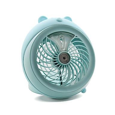 Vesisumua Fan pystyssä suunnittelu Viileä ja virkistävä Kevyt ja kätevä Hiljainen ja Mute Tuulennopeus asetus USB