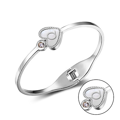 Fashion stainless steel bracelet bracelet Andy happy song same paragraph