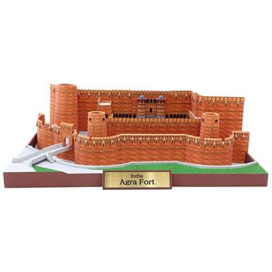 3D-puslespill Papirmodell Modellsett Papirkunst Leketøy Kjent bygning Arkitektur 3D GDS Unisex Deler
