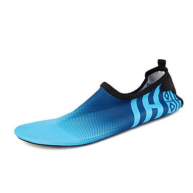 Homens sapatos Náilon Primavera Outono Conforto Tênis Tênis Anfíbio Estampa Animal para Atlético Casual Ao ar livre Cinzento Azul Rosa