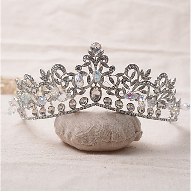 Rhinestone Alloy Tiaras 1 Wedding Special Occasion Birthday Party / Evening Headpiece