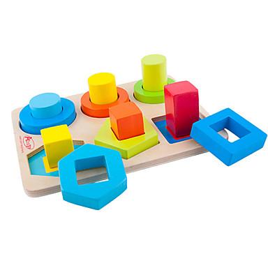Montessori oktatójáték Építőkockák Baby blokkok Fejlesztő játék Oktatás Klasszikus Menő Fiú Ajándék