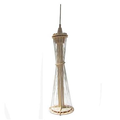 3D építőjátékok Wood Model Modeli i makete Torony Népszerű épület Ház DIY Fa Klasszikus Uniszex Ajándék