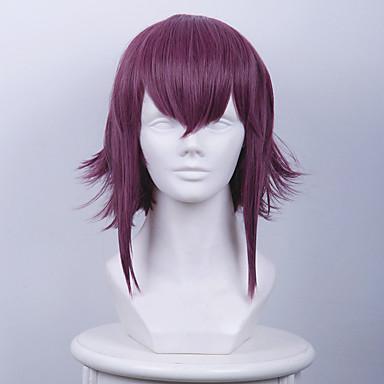 Synthetic Cosplay Wigs CREATORS Maitreya Monastery Night Purple Fancy Short Cosplay Wigs