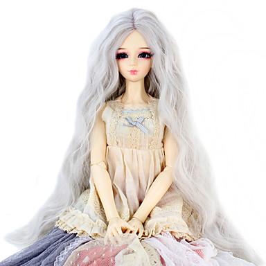 Synteettiset peruukit Kinky Curly Naisten Doll Wig Synteettiset hiukset