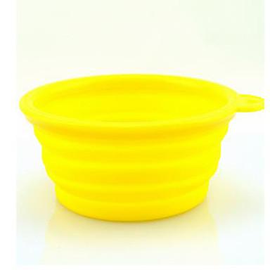 L Koira Kulhot ja vesipullot Lemmikit Kupit ja ruokinta Kannettava Musta Oranssi Keltainen