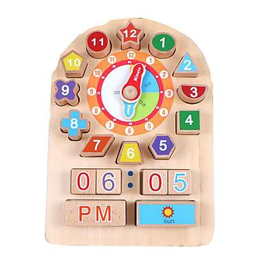 Montessori-opetusväline Puiset palapelit Matematiikkalelut Opetuslelut Koulutus Puinen Lasten Lahja