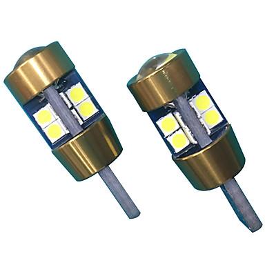 10w objektiivin rakenne t10 can-bus led -lamppu valkoinen väri (2kpl)