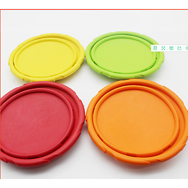 Dog Dog Toy Pet Toys Flying Disc Elastic Fabric For Pets