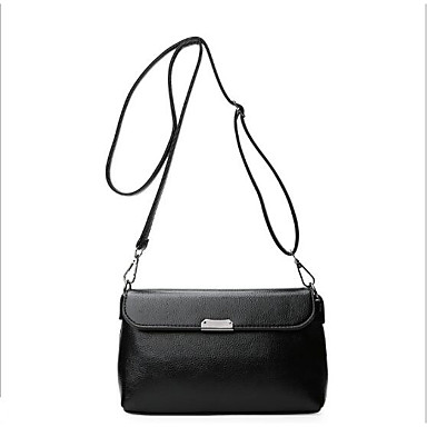 Women Bags PU Crossbody Bag for Casual Outdoor All Seasons White Black Red Blushing Pink