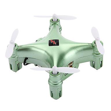 RC Drone WL Toys Q343 4CH 6 Eixos 2.4G Com Câmera HD 0.3MP Quadcópero com CR FPV Luzes LED Retorno Com 1 Botão Modo Espelho Inteligente