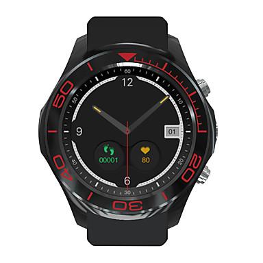 Relógio inteligente satélite Tela de toque Monitor de Batimento Cardíaco Impermeável Calorias Queimadas Video Controle de Mídia Câmera