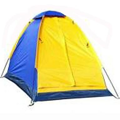 1 Person Zelt Einzeln Camping Zelt Einzimmer Falt-Zelt Wasserdicht Regendicht Klappbar für Camping & Wandern 1500-2000 mm Glasfaser