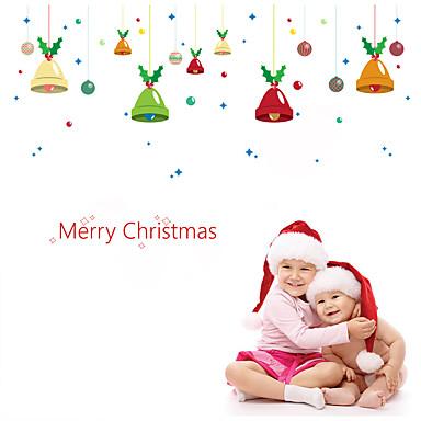 Jul Romantik Højtid Veggklistremerker Fly vægklistermærker Dekorative Mur Klistermærker Materiale Hjem Dekor Veggoverføringsbilde
