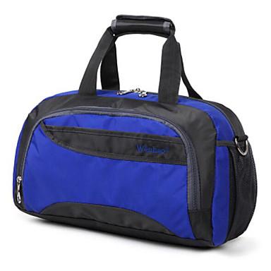 Unisex Travel Bag PU Oxford Cloth Polyester All Seasons Casual Outdoor Rectangle Zipper Blue Black Orange