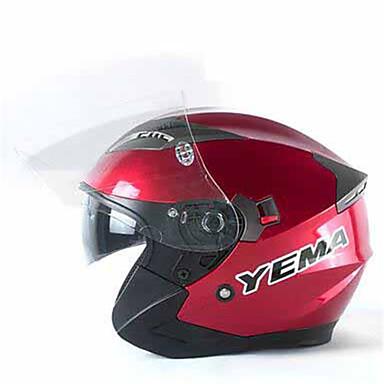 Meio Capacete Forma Assenta Compacto Respirável Melhor qualidade Esportivo ABS capacetes para motociclistas