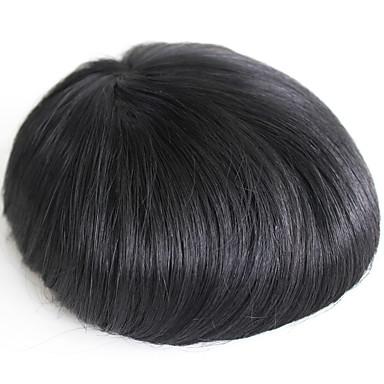miesten hiuslisäke oikean ihmisen hiuslisäkkeet miehille # 1 hiuksista miesten peruukki