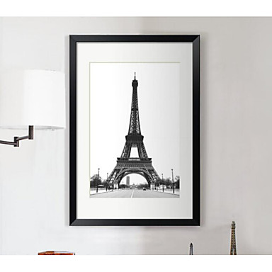Framed Canvas - Landscape PS Illustration