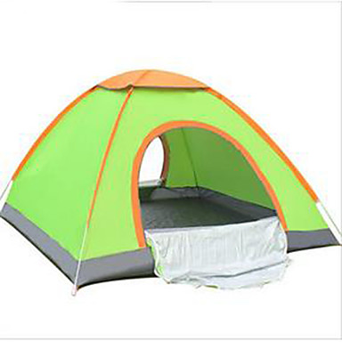 3-4 persons Tent Single Camping Tent Fold Tent Keep Warm for Camping / Hiking Other Material CM