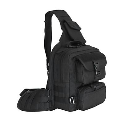 Men's Bags Nylon Shoulder Bag for Casual Outdoor All Seasons Black Brown