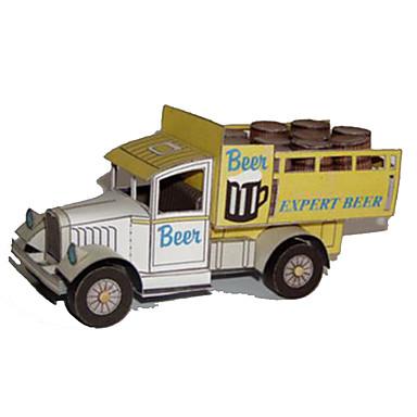 Carros de Brinquedo Quebra-Cabeças 3D Maquetes de Papel Quadrada Caminhão Cartão de Papel Duro Caminhão Para Meninos Unisexo Dom