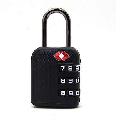RST-074 Padlock Plastics Password unlocking for Drawer Tool box Gym & Sports Locker Luggage