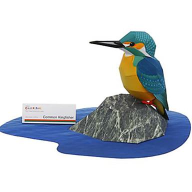3D palapeli Paperimalli Pienoismallisetit Lelut Neliö Lintu Eläimet DIY Kova kartonki Ei määritelty Pieces
