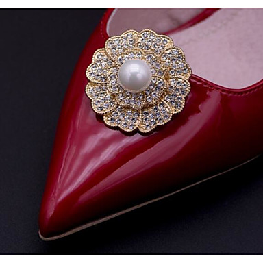 Alloy Decorative Accent with Diamond for Shoes