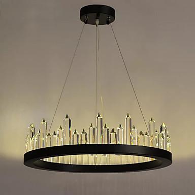 LED Chique & Moderno Moderno/Contemporâneo Cristal Luzes Pingente Luz Ambiente Para 880lm 110-120V 220-240V Lâmpada Incluída