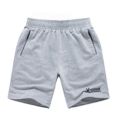 Men's Running Shorts - Black, Gray, Dark Grey Sports Simple Shorts Exercise & Fitness, Running Activewear Casual / Daily