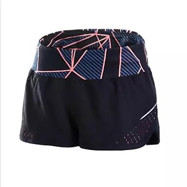 Dame Shorts til jogging Shorts Bunner Fitness, Løping & Yoga Fort Tørring Pustende til Yoga & Danse Sko Løper Trening & Fitness