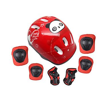 Barn Beskyttende Redskaper Knebeskyttere, albuebeskyttere og håndleddsbeskyttere Skøytehjelm til Sykling Skøyting Skateboarding Hoverboard