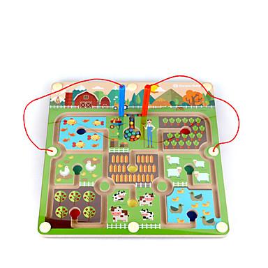 Blocos de Construir Labirintos Magnéticos Magnética Quadrada Crianças Para Meninos Dom