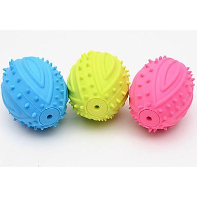 Bide Leker Pipe-Leker Holdbar Fotball Gummi Til Kat Hund