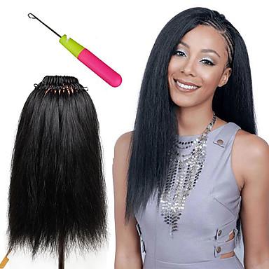 Crochet 100% kanekalon hair Human Hair Extensions Hair Accessory Pre-loop Crochet Braids Hair Braids Daily