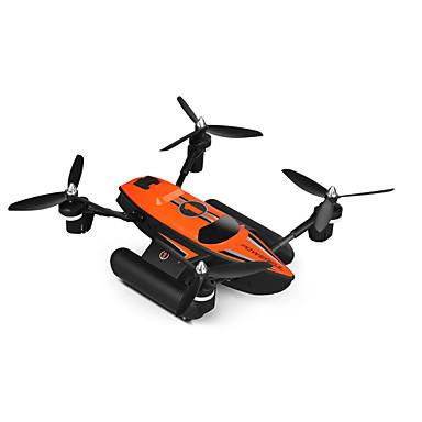 RC Drone WL Toys Q353 4CH 6 Eixos 2.4G - Quadcópero com CR Luzes LED Retorno Com 1 Botão Auto-Decolagem Seguro Contra Falhas Modo Espelho