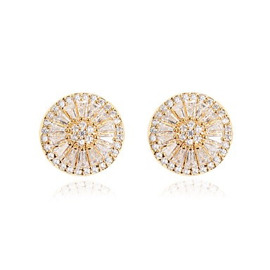 Women's Stud Earrings - Classic, Fashion Gold For Wedding / Party / Engagement / Gift
