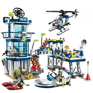 ENLIGHTEN Carros de Brinquedo / Blocos de Construir Carro de Polícia Unisexo / Para Meninos Dom