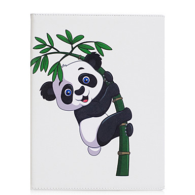 Capinha Para Apple iPad 4/3/2 iPad Air 2 iPad Air Origami Capa Proteção Completa Panda Rígida PU Leather para iPad 4/3/2 iPad Air iPad