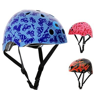 Bike Helmet Skateboarding Helmet Skate Helmet Kid's Adults' Helmet CE Certification Damping Flexible for Ice Skating Skate Cycling/Bike