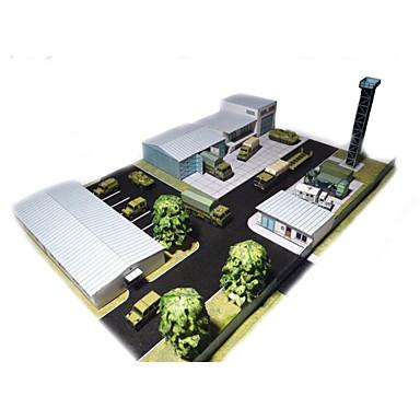 3D-puslespill Papirmodell Modellsett Papirkunst Leketøy Arkitektur 3D GDS simulering Hardt Kortpapir Unisex Deler