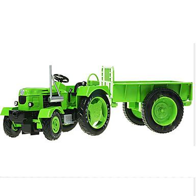 KDW traktori Toy Trucks & Rakennusajoneuvot Leluautot Retro Simulointi Metalliseos Rauta Unisex Lasten Lelut Lahja