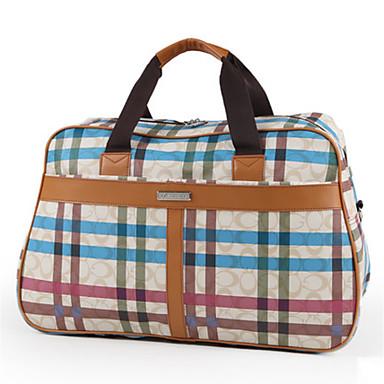 Men Bags PVC Travel Bag for Casual Outdoor All Seasons Blue Black Purple Fuchsia