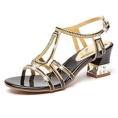 synthétique 06010624 Bout Aiguille de Chaussures Talon Confort Femme Nouveauté PU Marche à Eté Automne Talons ouvert microfibre Chaussures wZI6Tqp