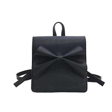 Women's Bags PU Backpack for Casual Outdoor All Seasons Blue Black Blushing Pink