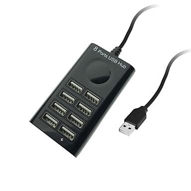 Cwxuan 8 USB Hub USB 2.0 USB 2.0 Data Hub