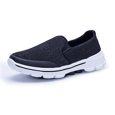 Men's Shoes Knit Spring Fall Comfort Light Soles Athletic Shoes Walking Shoes For Athletic Casual Outdoor Office & Career Black Dark Blue