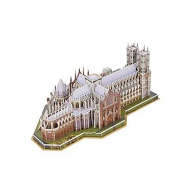 3D Puzzles Jigsaw Puzzle Model Building Kit Famous buildings Church Architecture 3D EPS+EPU Unisex Gift