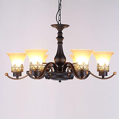 Retro Lustres Luz Superior - Estilo Mini, 110-120V / 220-240V Lâmpada Não Incluída